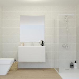 Elección de materiales en baños